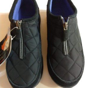 Lands' End All Weather Shoes - Size 8B - Black NWT